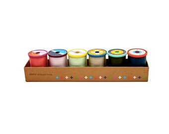 Cotton + Steel 50 weight Cotton Thread Set by Sulky - Guest