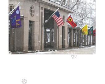 The MUNY (Municipal Opera) in Winter