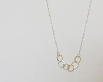 Six Circles Necklace