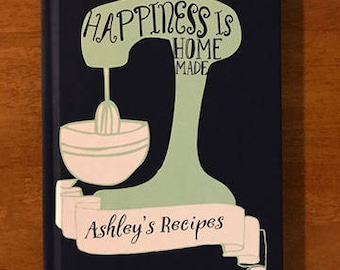 christmas gifts for mom and dad, personalized gifts, recipe journal