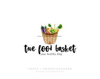 Veggie Logo Design Vegetables Logo Food Logo Design