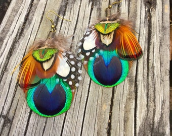 PEACOCK TRIBE earrings
