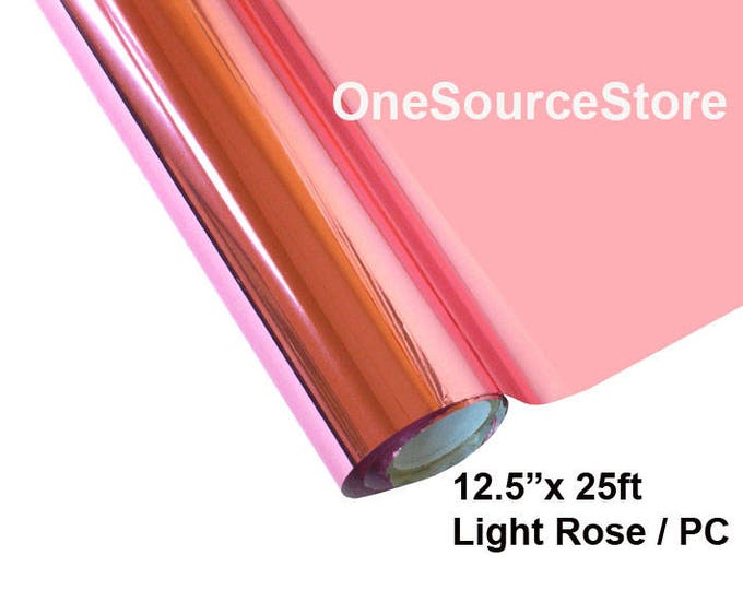 "HTV Textile Foil* / 12.5 ""x 25ft / Light Rose / PC"