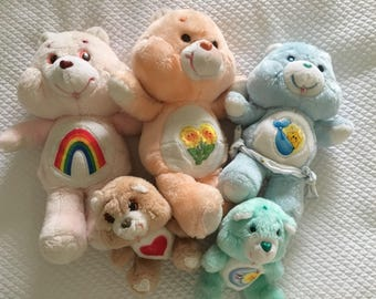 Collection of gorgeous 80's Care Bears
