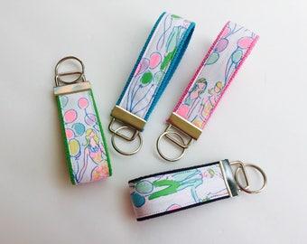 Lilly Pulitzer POP Fabric Key Fob Wristlet - Choose One