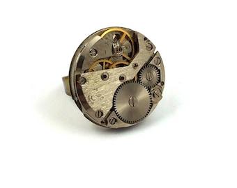 Maxi Adjustable Steampunk ring