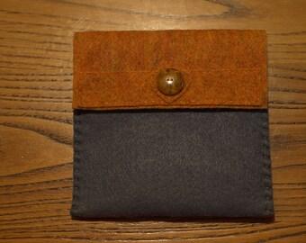 Cute handmade felt purse