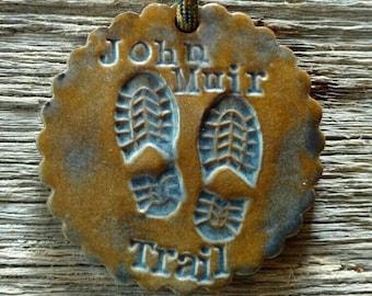 John Muir Trail JMT Medallion/Ornament