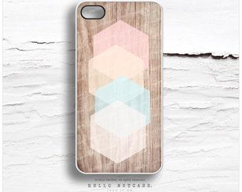 iPhone 7 Case Wood Geometric iPhone 7 Plus iPhone 6s Case iPhone SE Case iPhone 6 Case iPhone 6s Plus iPhone iPhone 5S Case Galaxy S6 I119