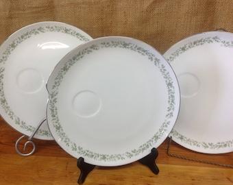 Set of 3 Mikasa Montclaire Luncheon Plates