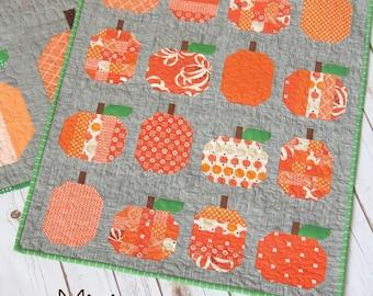 "Mini Pumpkins Quilt Pattern - Allison R. Harris for Cluck Cluck Sew - 23 1/2"" x 29"""