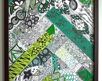 Mossy Green Steps