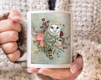 Owl Mug, Coffee Mug, Coffee Cup, Owl Gifts, Owl Cup, Gift for Owl Lover, Owl Coffee Cup, Owl Coffee Mug, Owl Gift, Owl Art