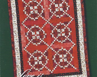 Love is All Around (Quilt Pattern) by Classy Patterns [2007]