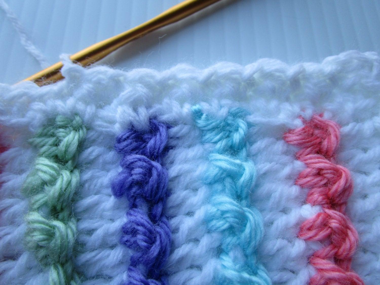 Crochet Pattern, Easy Crochet Blanket Pattern, PDF Tutorial, Crochet ...