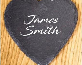 Personalised Slates - Wedding Favours