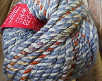 SUPER BULKY Weight Yarn - Mountain Stream (#08) - Acrylic Wool Blend - Filatura Di Crosa - 100 g / 60 yards