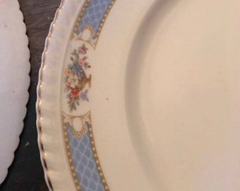 Johnson Brothers plates. Dinner plates. Johnson Brothers Floral Plates.