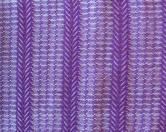 Handwoven Purple Bamboo Scarf/Handmade/Cotton