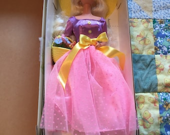 NRFB Vintage Avon Spring Blossom Barbie Doll Made by Mattel An Avon Exclusive