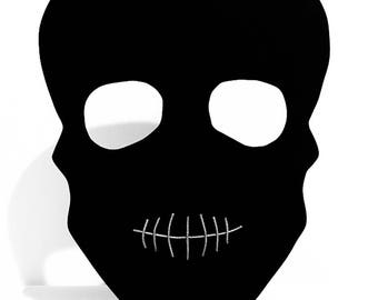 Skull Blackboard on stand
