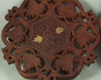 Trivet, hand made, collector's trivet, Eternal Tree House
