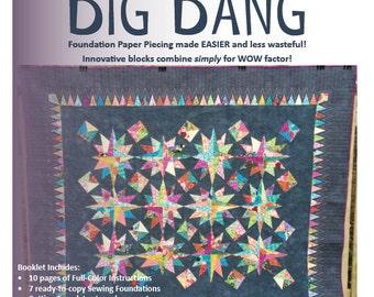 Big Bang Quilt Pattern (PDF download)