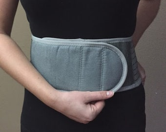 Self-Warming Back Support | Bamboo Charcoal Technology