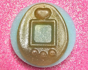 Cabochon\Stampo Flexible Silicone-inspired Tamagotchi gloss