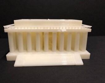 3D Printed Lincoln Memorial