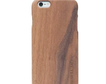 iPhone 6 Wood Cover | Unique Wooden Cover | Walnut Wood | Unique iPhone 6 Case | Case For Men – Women | Gift For Men - Women