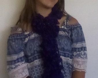 Dark purple Sashay scarf