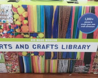 Arts and Crafts Library for Kids Crafts Over 1250 Pieces!