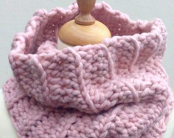 CROCHET PATTERN - Cowl Pattern, Chunky Crochet Cowl