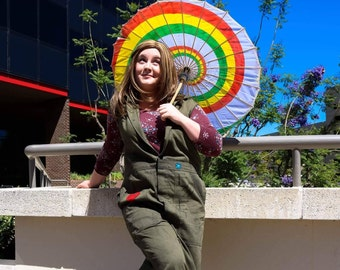 Kaylee combined Jumpsuit and Parasol costume Firefly Serenity