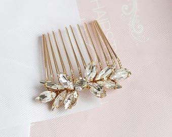bridal hair comb crytal wedding hair comb