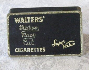 Cigarette Tobacco Tin   Walters of England