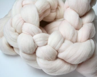 Delicately Perfect Hand Dyed Merino Tops (Roving) Braid
