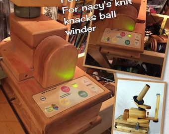 Nancy's Knit knacks  ball winder Powerbase  choose with or with out the ball winder: saorisantacruz