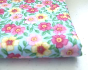 Patty Reed Designs for Fabric Traditions.....Pink and Yellow Floral cotton fabric