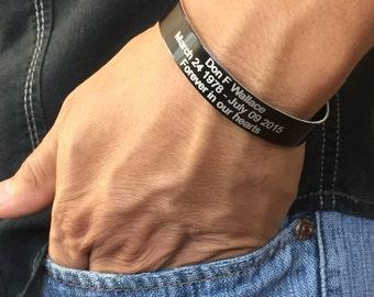 Memorial bracelets Etsy