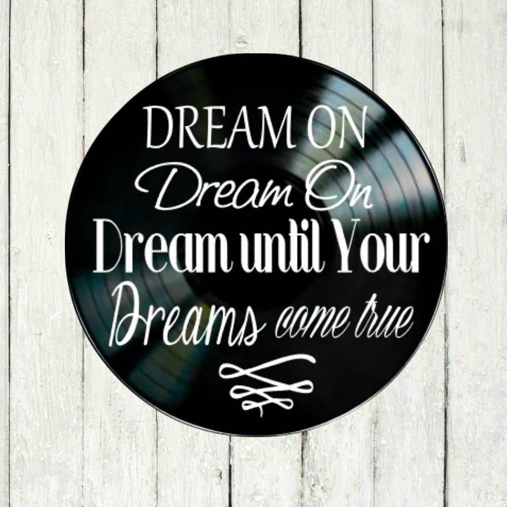 Aerosmith Dream On Chanson Paroles Vinyle Sur Vinyle