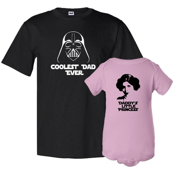 Coolest Dad Ever And Daddy S Litle Princess Father T Shirt