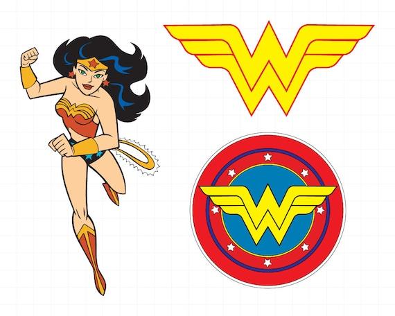 Wonder Woman clipart silhouette Wonder Woman svg Woman