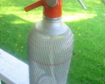 German soda siphon bottle