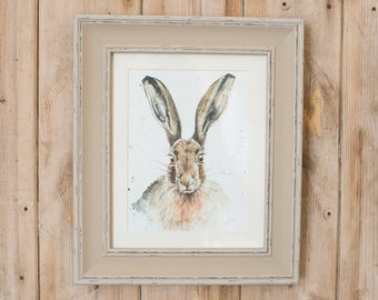 Lily Hare print