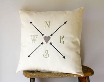Fixer Upper Style, Magnolia Market Style, Joanna Gaines Inspired, Farmhouse Throw Pillows, Rustic Farmhouse Pillows, Farmhouse Fresh, Arrow