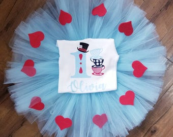 Alice in Wonderland Tutu Set