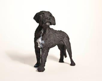 Custom Ceramic Sculpture of Your Four Legged Friend