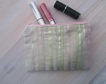 fabric purse / cosmetic purse